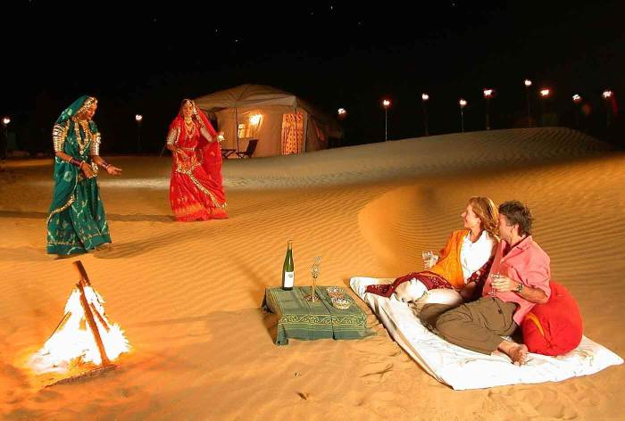glamping spots in India