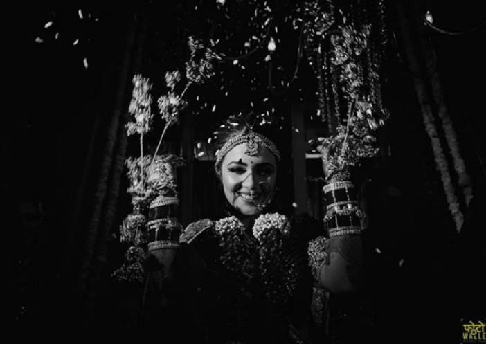 bridal portraits indian wedding