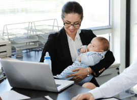 Going Back To Work After Maternity Leave: 4 Moms Tell Us How They Did It Successfully