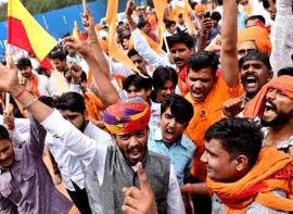 Karni Sena Manikarnika protests