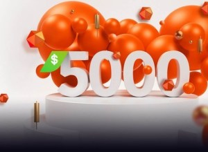 Up to $5,000 top up from your deposits