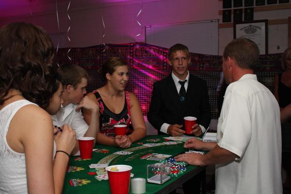 Portland Casino Parties Portland Casino Party Table Rentals
