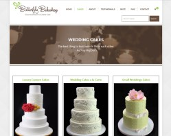 Butterfly Bakeshop for your Dream Wedding Cake