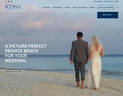 ICONA Diamond Beach Wedding Venue
