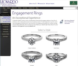 Leonardo Jewelers Wedding Collection