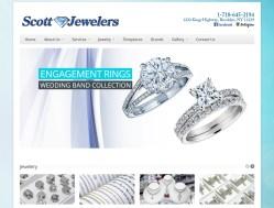 Scott Jewelers Website