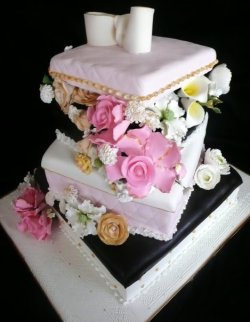 Custom Wedding Cakes by Roxana
