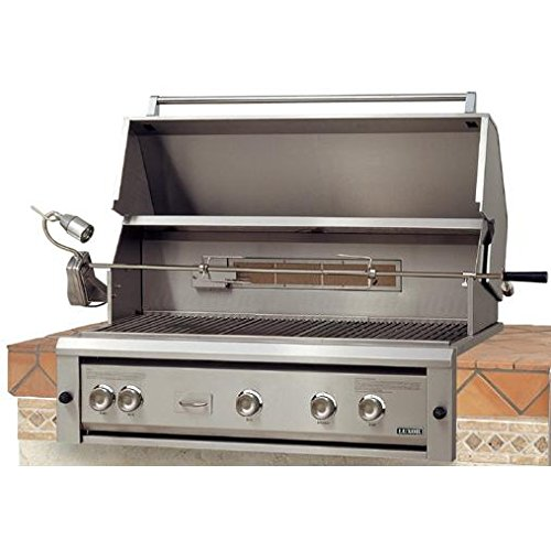 Luxor Gas Grills 42 Inch Built-in Natural Gas Grill With Rotisserie Aht-42rcv-bi-ng