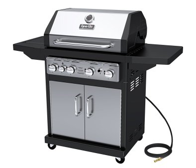 Dyna-Glo Black Natural Gas Grill, Stainless Steel
