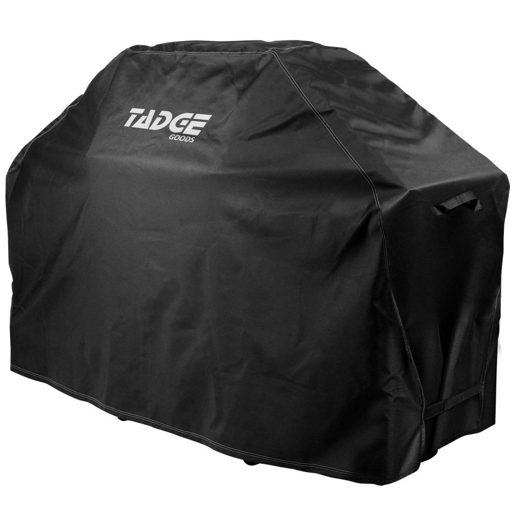 """Tadge Goods BBQ Grill Cover w/Handles (58"""" Black)"""