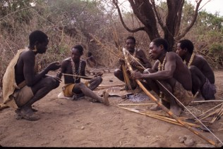 Hadza_Readying_Bows