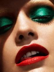 Jade eye make up