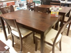 4 wooden dining chairs and table for 529, what less they can offer?