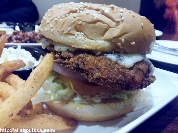 Sizzler House - Crusted Parmesan Chicken
