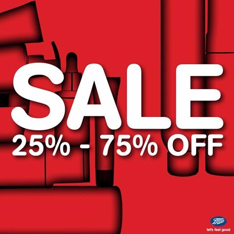 Amazing Sale at Boots