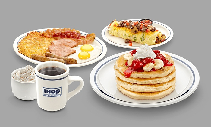 IHOP! All day breakfast