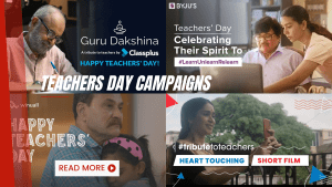 Teachers' Day Ads 2021 – A compilation of Teachers' Day ads from brands across India