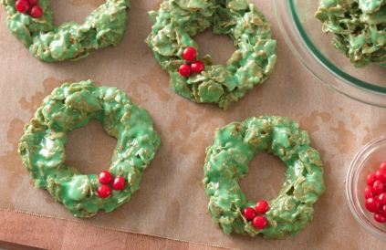 christmaswreathcookie