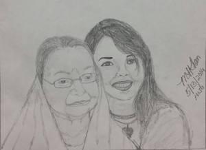 With My Grandma