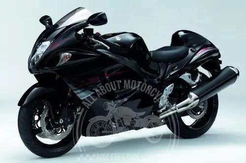 Suzuki Hayabusa top ten fastest motorcycle in the world