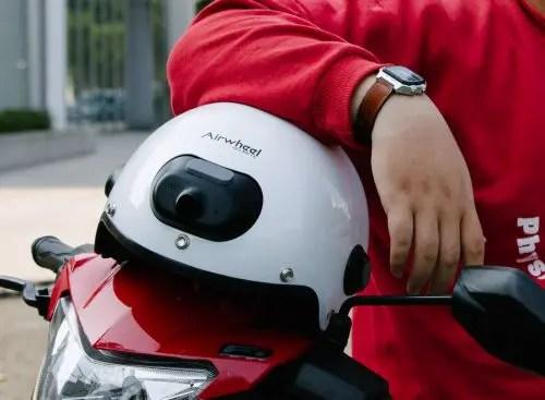 airwheel c6 camera helmet