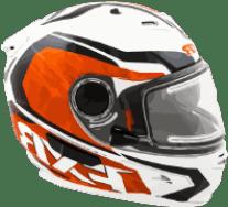 snowmobile full face helmet