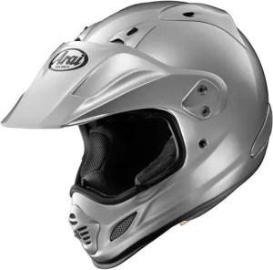 Arai XD4 Aluminum Silver Dual Sport Helmet