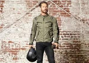 Viking leather jacket