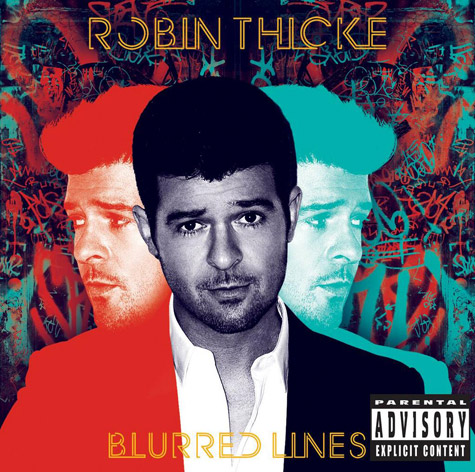 robin thicke blurred lines