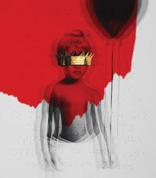Rihanna ANTI cover art by Roy Nachum