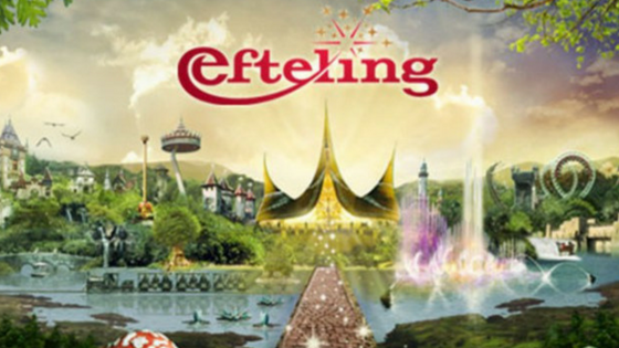 Celebrating Laia's Birthday at Efteling
