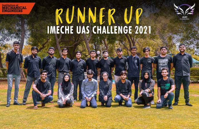 Pakistani student team from NUST awarded Runner Up at UK drone competition