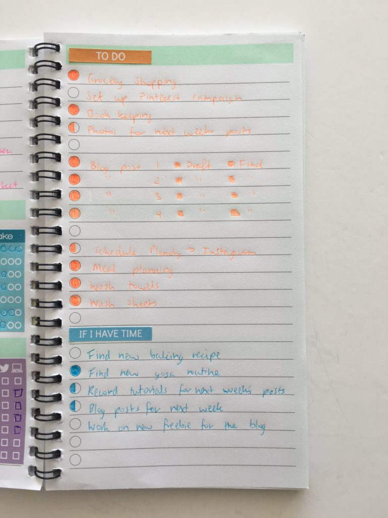 Using Blank Pages 50 Useful Lists To Add To Your Planner