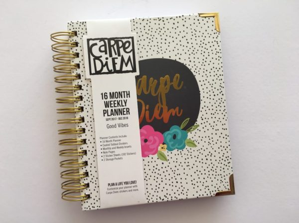 Carpe Diem A5 Planner (by Simple Stories) Review & Flipthrough
