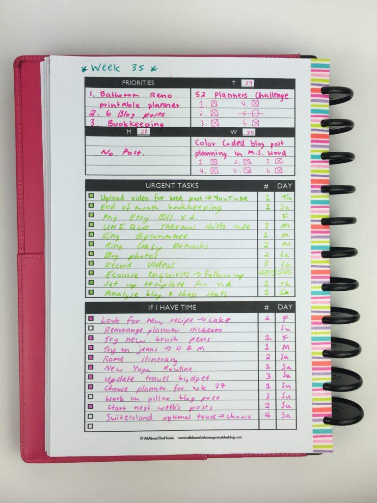 Goal Planning Printables