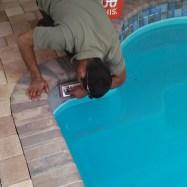 tiling pool