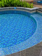 pool tiling surface