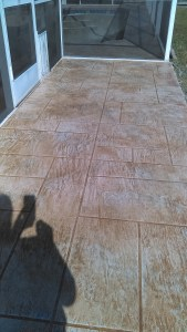 Custom pattern concrete