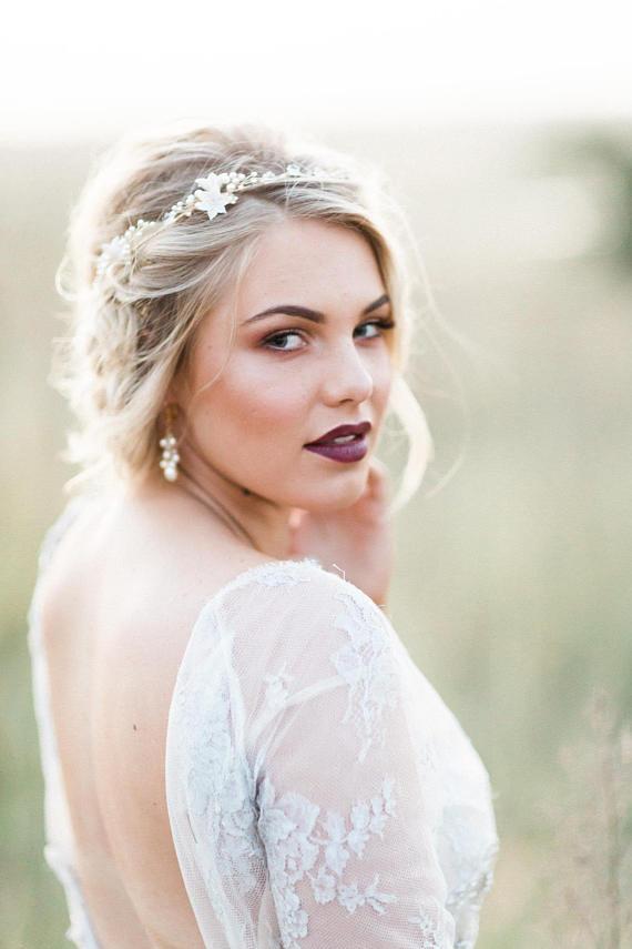 EMMA | Pearl Wedding Earrings
