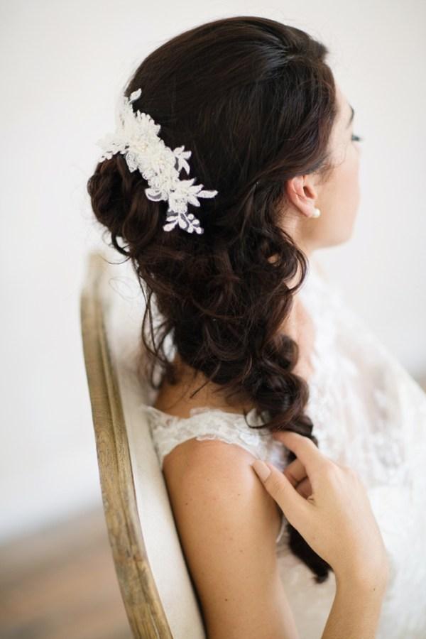 Lace Bridal Comb | BELLAMY