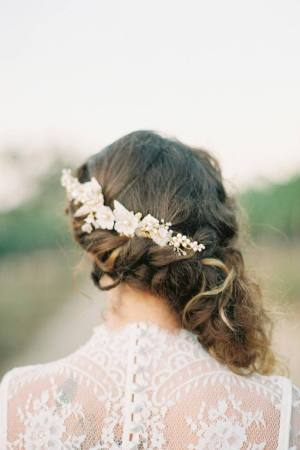 Floral Wedding Comb | CHERRY BLOSSOMS