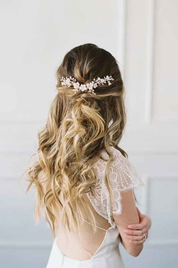 Gold Botanical Hair Vine | VIGNETTA