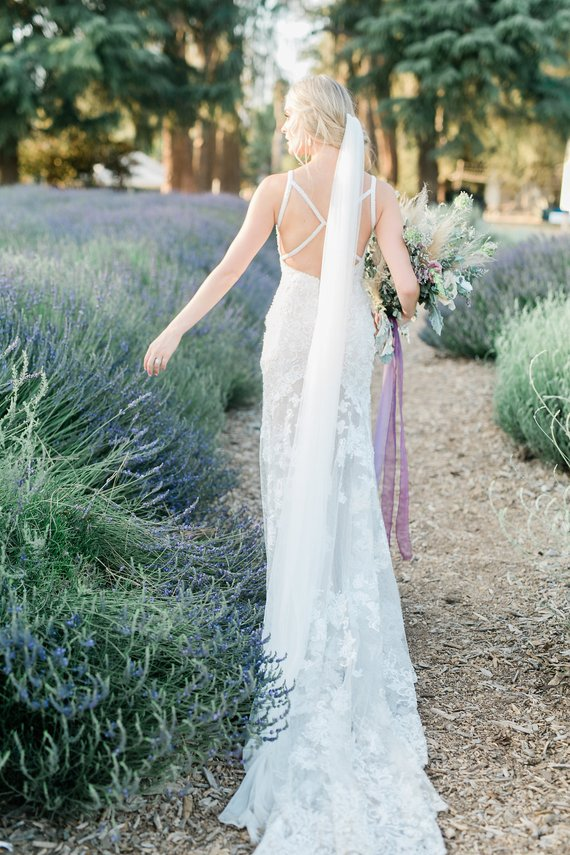 ASHLEY cathedral length Wedding Veil