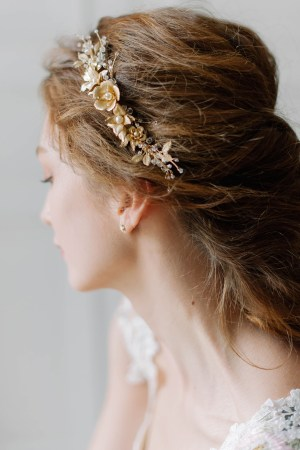wedding hair vine, bridal hair vine