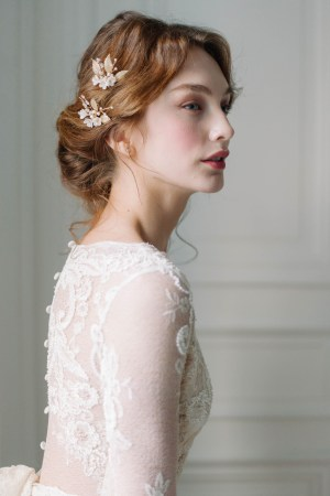 bridal hair pins, wedding hair pins
