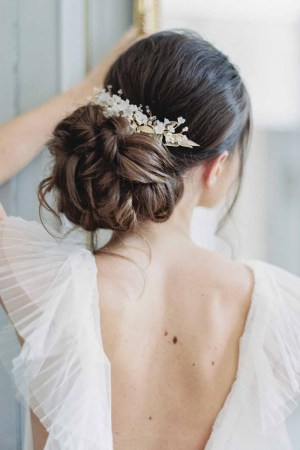 Bridal Hair Piece VIGNE de CLEMATITE