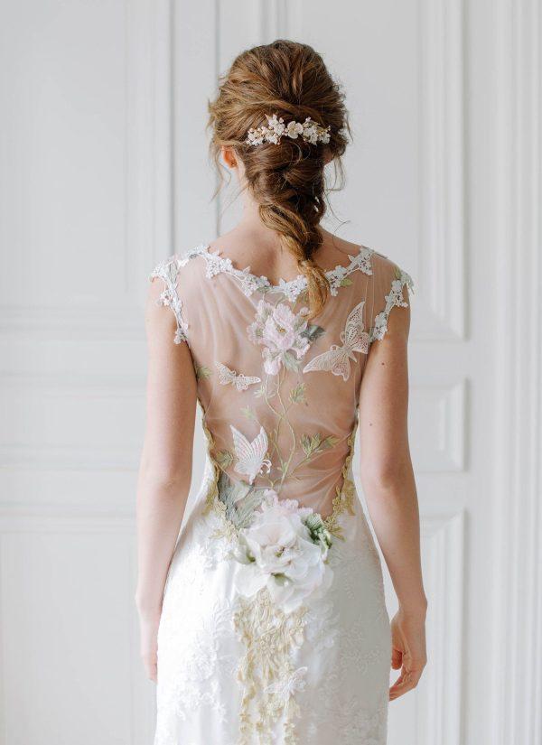 bridal hair comb, wedding hair comb