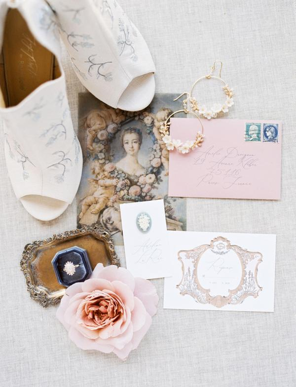 All About Romance French Wedding Inspiration