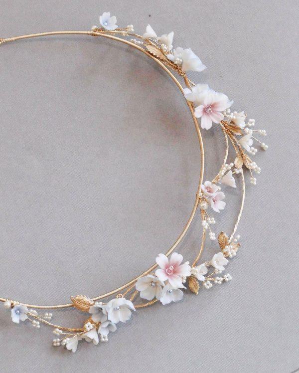 Wedding crown, bridal crown, tiara, flower crowns