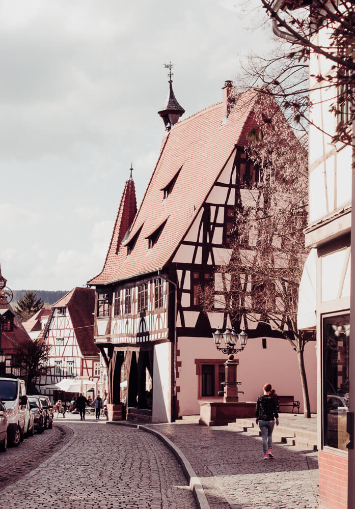Things to do in Frankfurt. A day trip to Michelstadt and Erbach, two fairytale German villages.